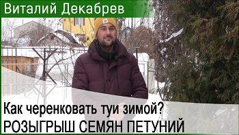 Дачные сезоны с Виталием Декабревым (27 января 2018)