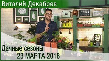 Дачные сезоны с Виталием Декабревым (23 марта 2018)